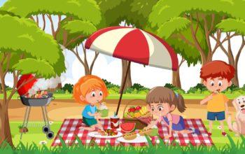 picnic con amigos